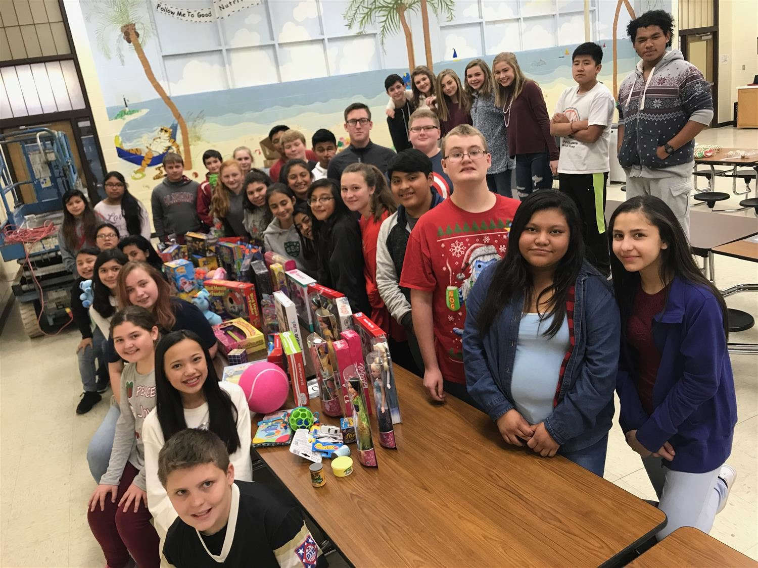 RMS Student Council toy Drive/Christmas Party