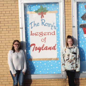 RHS Students create Toyland Art