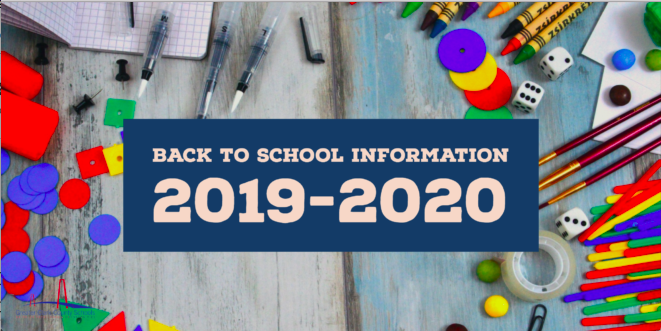 WES Back-to-School Information